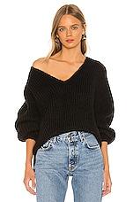 ELEVEN SIX Tess Sweater in Black