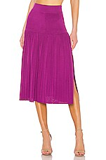 ELEVEN SIX Sian Skirt in Violet
