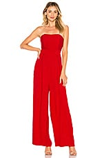 Endless Rose X REVOLVE Strapless Jumpsuit in Red