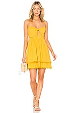 Endless Rose Baby Doll Dress in Canary Yellow