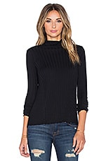 PULL CASHMERE FLARE LONG SLEEVE TURTLENECK