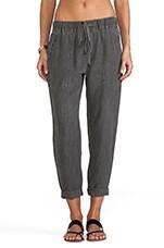 Linen Pant in Carbon