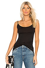 Tunic Layer Tank in Black