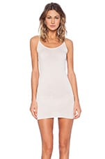 Tissue Jersey Tunic Layer Tank in Pink Tint