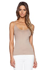 Tunic Layer Tank in Silver Mink