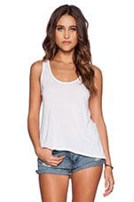 Scoop Tank in White