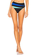 EMMA PAKE Gabriela Bikini Bottom in Rainbow Splice