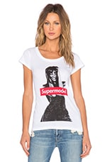 Eleven Paris Naomi Campbell Super Model Tee in White