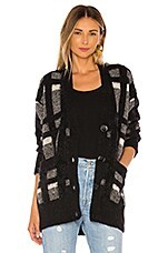 Equipment Cisse Cardigan in True Black Multi