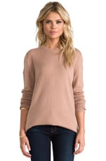 Rei Crew Sweater in Camel