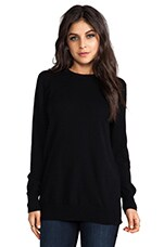 Rei Crew Sweater in Black