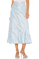 Equipment Iva Skirt in Bleu Aere & Eclipse