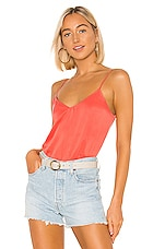 Equipment Layla Cami in Hot Coral