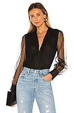 Equipment Garion Blouse in True Black