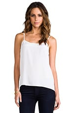 Cara Vintage Wash Cami en Bright White