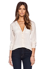 Silm Signature Bengal Blouse in Nude
