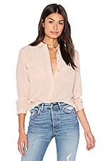 Slim Signature Blouse en Nude