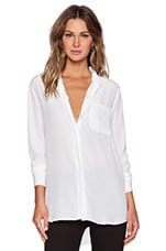 Langston Blouse in Bright White