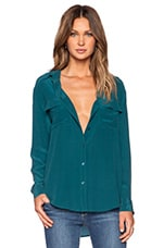 Signature Top in Deep Teal