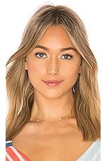 ERTH Shimmering Star Necklace in Gold Filled & CZ