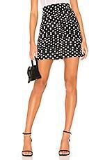 The East Order Amy Mini Skirt in Merci Polka