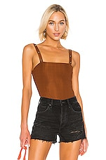 The East Order X REVOLVE Bodysuit in Cocoa