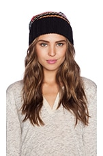 Horaire Beanie in Black