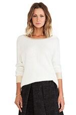 Henigma Sweater in Cream