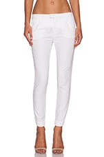 Cropped Jeans in White