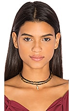 Choker Set in Black & Brown