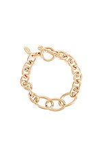 Ettika Link Chain Bracelet in Gold