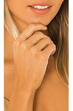 Ettika X LUXE 14k Gold & White Diamond Stacking Ring in Gold