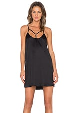 Across Town Dress in Black