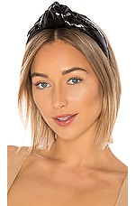 Eugenia Kim Maryn Patent Headband in Black