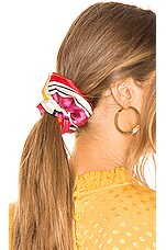 Eugenia Kim Mallory Scrunchie in Pink & Red