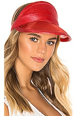 Eugenia Kim Vicky Visor in Red