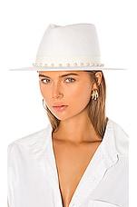 Eugenia Kim Blaine Hat in Winter White