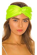 Eugenia Kim Malia Headband in Neon Green