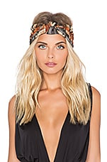 SU2C x REVOLVE Chiara Turban in Orange and Slate