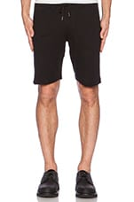 Wing Man Knit Short in Black