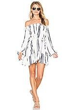 FAITHFULL THE BRAND Milos Dress in Del Rio Stripe Print