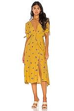 FAITHFULL THE BRAND Billie Midi Dress in Dolores Floral