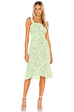 FAITHFULL THE BRAND Mae Midi Dress in Freja Floral