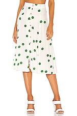 FAITHFULL THE BRAND Marin Skirt in Lolita Dot