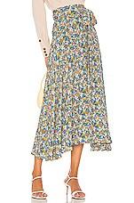 FAITHFULL THE BRAND Asiya Skirt in Vionett Floral