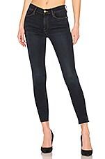 FRAME Le High Skinny Slit Jean in Fonda