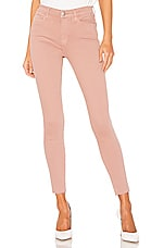 FRAME Le High Skinny in Dusty Rose