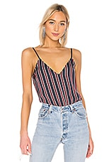 FRAME Classic Cami Top in Navy Multi