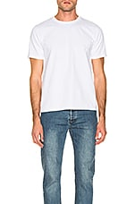 FRAME Heavyweight Classic Fit Tee in White