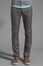 The Mills Slim Fit Hopsack Jean in Slate